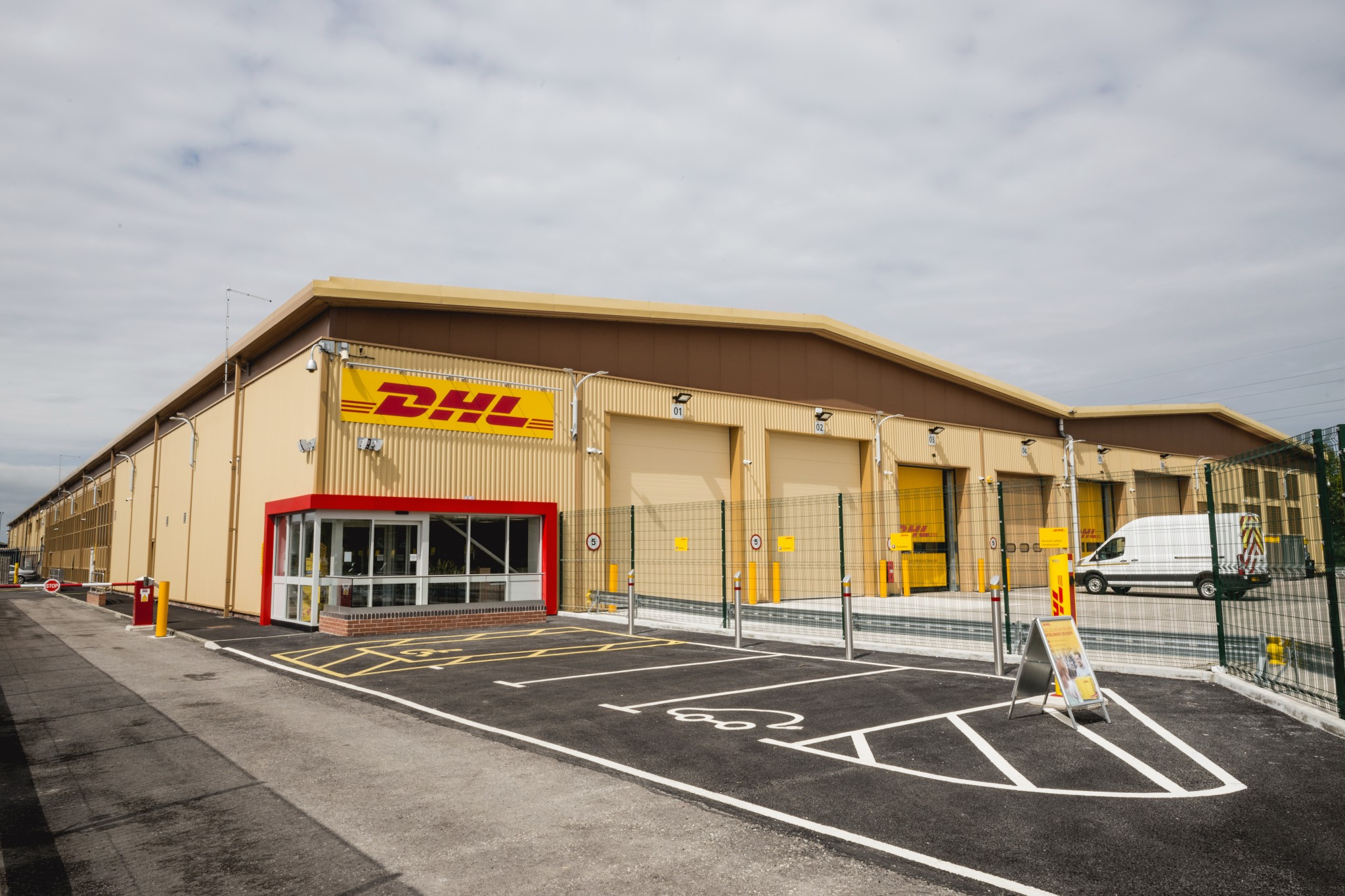 DHL Express Chester Gates – Warehouse Fit Out | Stewarts Commercial